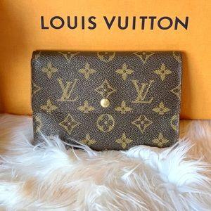 Authentic Louis Vuitton tresor trifold wallet